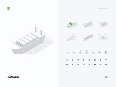 Illustration & Icon Systen icon pack icon set 2d illustration ui ux mobile application vector ios app design delivery parcel 3d isometric illustration logistics dashboad courier shipment