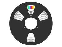 Reel To Reel Close-Up Logo Idea