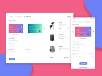 DailyUI #002 - Credit Card Checkout 💳🛒