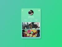 DailyUI #006 - User Profile 💪🏋️♂️