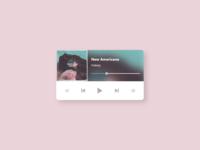 DailyUI #009 - Music Player 🎶🎧
