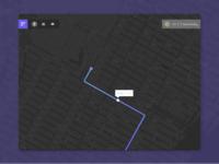 DailyUI #020 - Location Tracker 🗺🏙