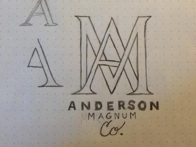 Logo Concept logo lettering organic branding