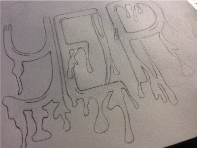 Lettering Personal Project II lettering drawing organic personal