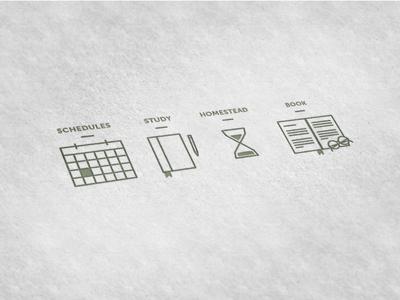 Icon Work - Calendar App icons icon uiux app application web