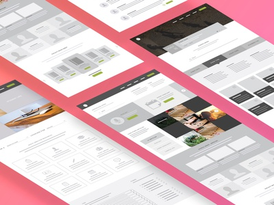 University Wireframes wireframes ui ux ui design ux design strategy education college university mapping flow