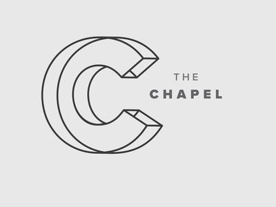 Logo / Identity - Church line work vector religious religion church c identity branding logo