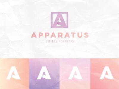 Apparatus Coffee Roasters Branding identity apparatus roasters mark logo branding coffee