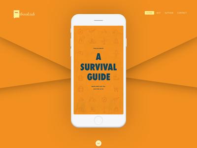 Product & Service Design web survival product mobile guide gradient ebook