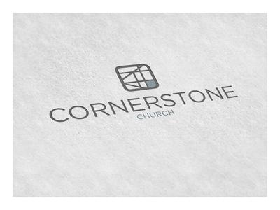 Cornerstone Branding - Logo - Identity identity church typography design strategy logo branding