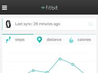 App Redesign - fitbit