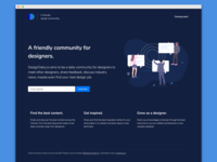 DesignDaily.co Landing Page
