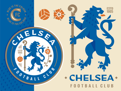 Chelsea mifa2020 mifa2020 england @davewi11 london premier league premierleague blue lion football emblem logo vector design illustration