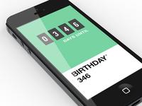 Pantone Countdown App