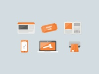 more flat icons