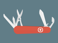 Camping Swiss Army Knife