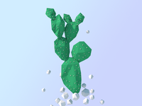Low Poly Cactus