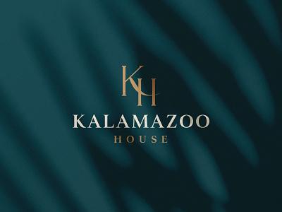 Kalamazoo House Logo sophisticated brand logo hotels feminine simple clean vintage contemporary modern luxury boutique hotel