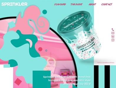 Sprinkler Landing Page