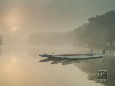Avon River Mist and Fog