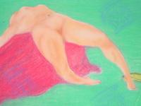 Pastel Painting 1989