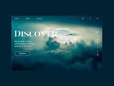Daily Ui #003 - Landing Page landing page ui dailyui 003 dailyui daily 100
