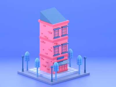 Stay at home! 3d animation studio 3d artist 3d animation design webdesign website ux ui product design product concept redshift cinema4d isometric illustration isometric design isometric art 3d 3d art
