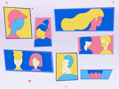 People 2d animation color palette colorful explainer animation explainer video explainer illustration art illustration 2d