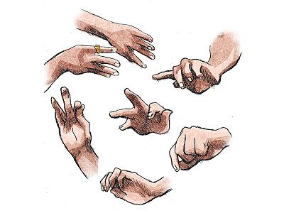 Remy Tav Skate Hands illustration hands skateboarding skate remy taveira