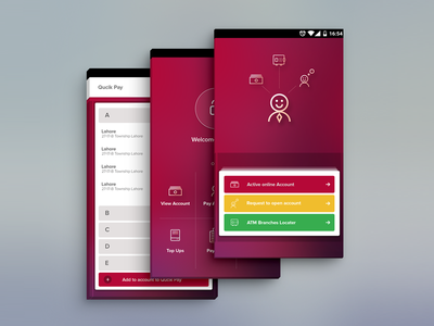 Android app for customer interface app ux ui
