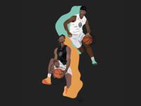 "Basketball ""Congrats Grad & Signing Day"" Graphic"
