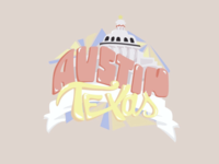 (Austin, Texas) Graphic/Sticker