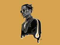 A$AP Rocky: Illustrative Graphic
