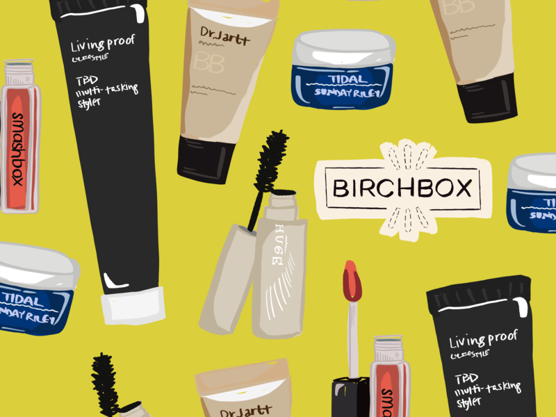 Birchbox Print. graphic art austin texas austin designer graphic design illustration