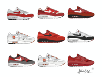 85 Air Max 1's // Multiple Colorways