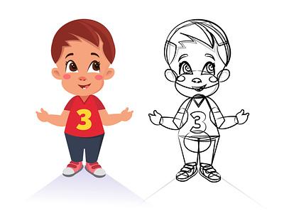 Toddler illustration babies designs 2d lovely cute childrens book baby toddler digital design inspire character adobe illustrator creative art drawing vector illustration