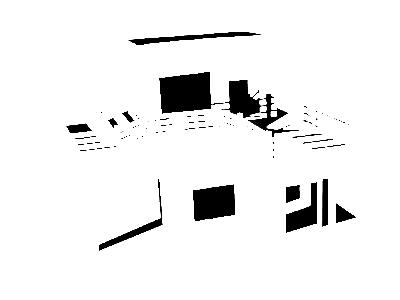 3d House Model By Gerard Mandam On Dribbble
