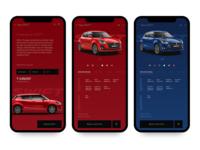 Maruti Suzuki Arena App UI Redesign