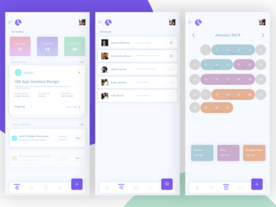 Project Management App UI