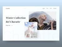 Fashion luxury - website