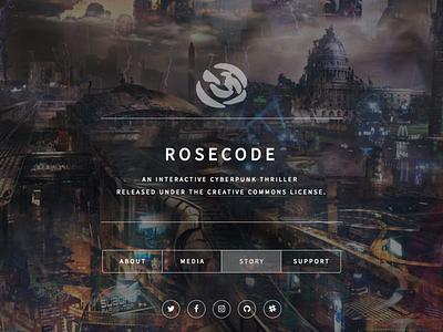 ROSECODE Website game design web design responsive logo branding design art direction
