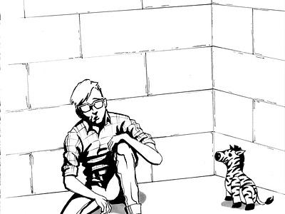 ROSECODE Fan Art script blender 3d 3d art comics art direction