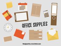 Sticker set- Office Supplies
