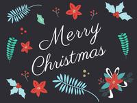 Christmas Greeting Card🎄⛄