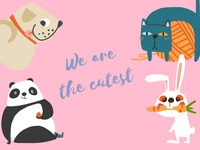 Animal Sticker