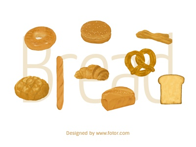 Toast Bread Stickers