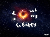 Donut Black Hole