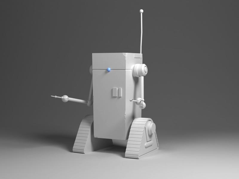 Robot#1 illustration blender robot