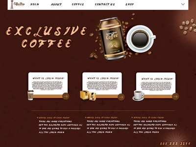 Coffe Web Banner