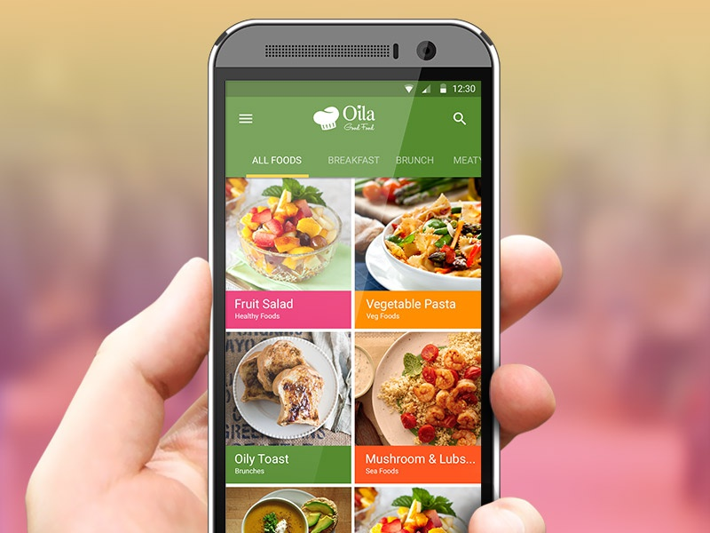 Food recipes app by farid nobar dribbble oila goodfood forumfinder Image collections